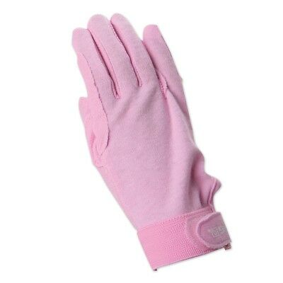 (Medium, Pink) - SSG Gripper Riding Gloves - Pink - 7. Brand New
