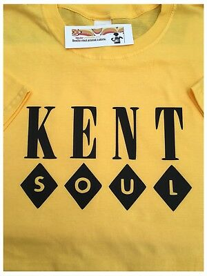 KENT RECORD LABEL T Shirt-northern soul-R&B various colours and sizes