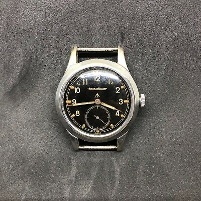 The Dirty Dozen Jaeger Le Coultre Military Watch RARE MUST SEE Fat Broad Arrow