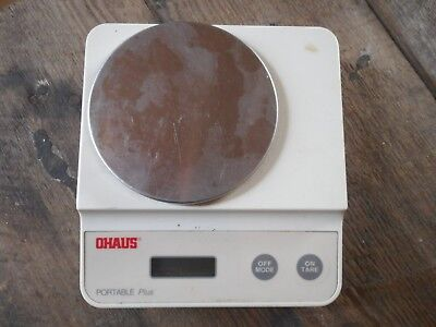 OHAUS Portable Plus C305-S Digital Scale Works Great
