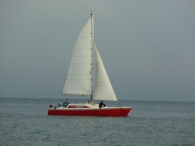 Segelboot Katamaran Strider-Club Catamaran Woods Design