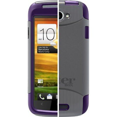 OtterBox Commuter Sereis Case for HTC One S - Purple/Grey - NEW