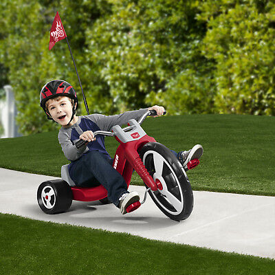 e20bb0002b4 Radio Flyer Big Flyer Big Wheel Sport Trike Red Kids Tricycle Riding Toy  Outdoor