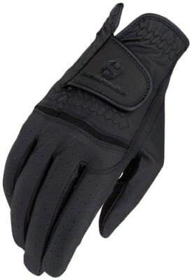 (9, Black) - Heritage Premier Show Glove. Heritage Products. Free Delivery