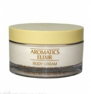 Aromatics Elixir By Clinique For Women. Body Cream 5.0 Oz / 150 Ml. Huge Saving