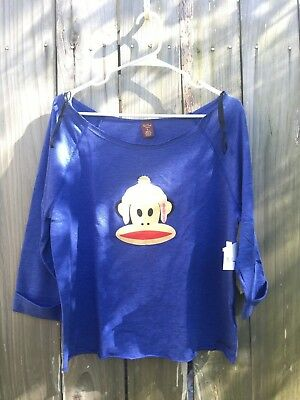 Paul Frank The Julius Sweatshirt Skateboarding in Blue