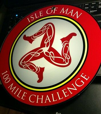 Isle of Man Motorcycle Racing Challenge sign