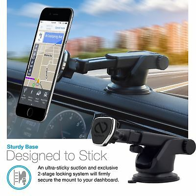 Naztech MagBuddy Dash Universal Magnetic Car Dashboard Cell Phone Tablet Mount