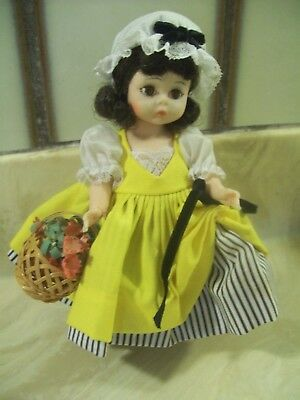"VINTAGE MADAME ALEXANDER 8"" DOLL ""FRENCH""  issued between  1961 AND 1973 BK ALEX"