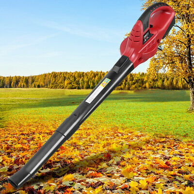 Cordless Leaf Blower Lightweight Compact Rubber grip handle 2-Speed 20V 190MPH