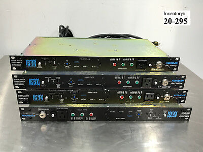 Furman 20 Pro Amp Power Conditioner Sequencer, Lot of 4 (used working)