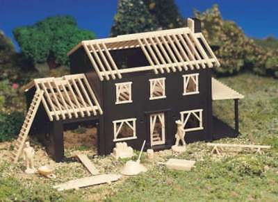 House Construction Kit 45191 by Bachmann - HO Model Trains- Layout Building