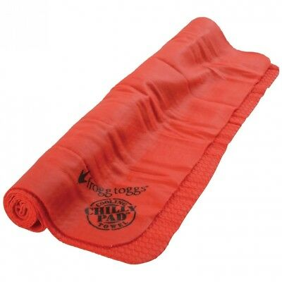 (Red) - Frogg Toggs Chilly Pad Evaporative, Cooling, Snap Towel. Brand New