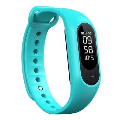 (Green) - Waterproof Smart Bracelet Bluetooth Watch Heart Rate Monitor Sleep