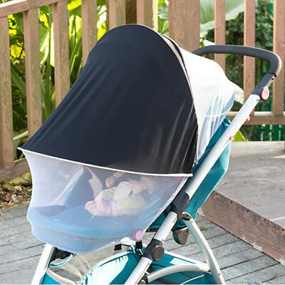 Foldable Baby Mosquito Fly Insect Sun Dust Protect Cover Net Mesh Pram Stroller