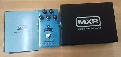 MXR Analog Chorus M234 electric guitar effects pedal, BRAND NEW BOXED