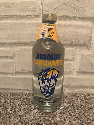 Absolut Vodka Vancouver Limited Edition 750ml mit Tag neu sealed