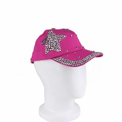 Cool New Fashion Children Cap Popular Star Shaped Rhinestone Baseball Cap GT