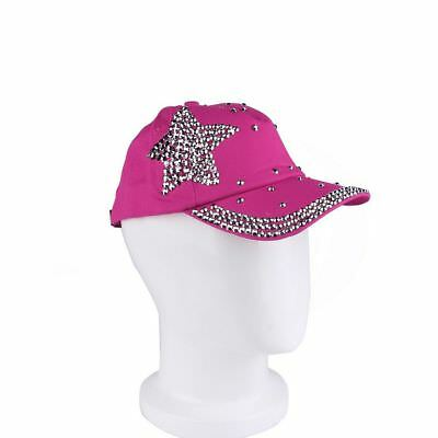 Cool New Fashion Children Cap Popular Star Shaped Rhinestone Baseball Cap GA