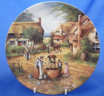 Wedgwood Country Days Collector Plate By Chris Howells - Fetching The Water