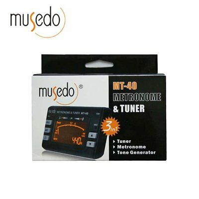 MUSEDO T-21 DIGITAL CHROMATIC GUITAR VIOLIN TUNER - $14 95