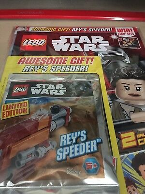 LEGO STAR Wars gift Magazines UK versions, bagged and sealed Oct ...