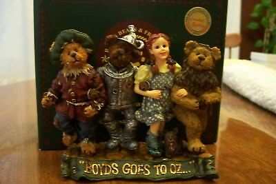 Boyds Bears Resin Dorothy & Company Off to see the Wizard