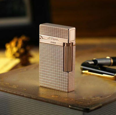 2018 NEW S.T Memorial lighter Bright Sound! free shipping Rose Gold lighter