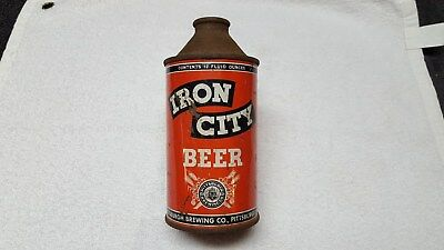 Iron City Beer Cone Top Beer Can From Pittsburgh Brewing Co. Pa.