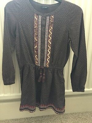 Girls Next Sequinced Playsuit Age 10