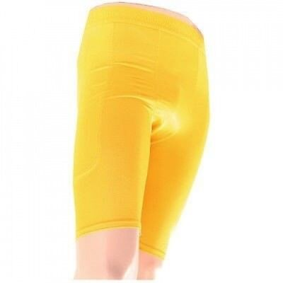 McDavid Classic 820 Deluxe Sliding Compression Shorts Gold Small. Brand New