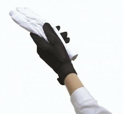 (Small, Black) - Ovation Sport Cotton Pebble Gloves. Shipping Included