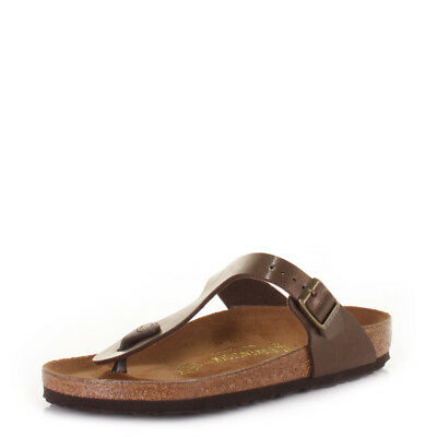 cbc055da72fb79 WOMENS BIRKENSTOCK GIZEH Graceful Toffee Regular Fit Sandals Sz Size ...
