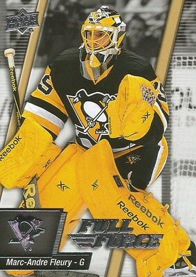 Marc-Andre Fleury #56 - 2015-16 Full Force - Base