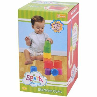 Spark Create Imagine - Stacking Cups for Kids/Toddlers/Babies
