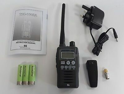 Air Band / Vhf Handheld Scanner Receiver 66 - 174Mhz With Batteries & Charger