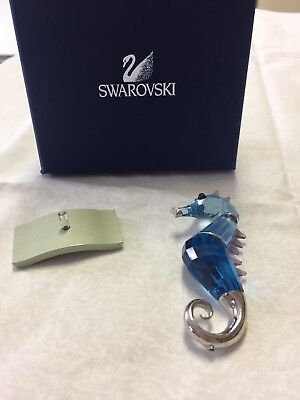 Swarovski Crystal Paradise Fish Object Chipili Seahorse 656653 Damaged