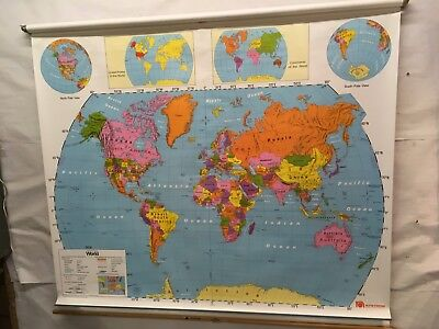 Nystrom School Map # 1NS981   World & United States    SM-04