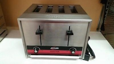Commercial Toaster, Axis, Model:ax-Pt2, Stainless Steel, 208-240 Volts
