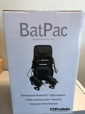 New Profoto BatPac Portable Battery Power Pack Free Shipping