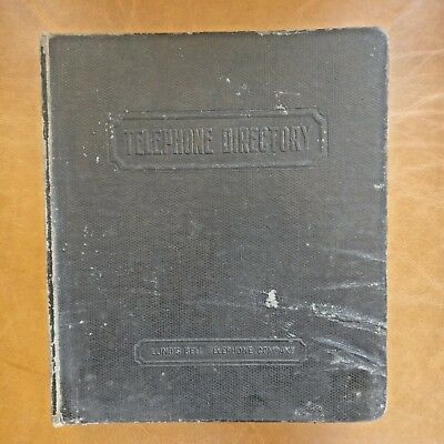 Vintage Pay Phone Binder Directory Illinois Bell Telephone Company 1970