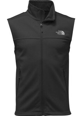 The North Face Men's Apex Canyonwall Soft Shell Full Zip Wind Resistant Vest NWT
