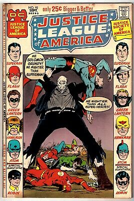 Justice League of America #92 (Sep 1971, DC) Neal Adams cover   GD/VG (3.0)