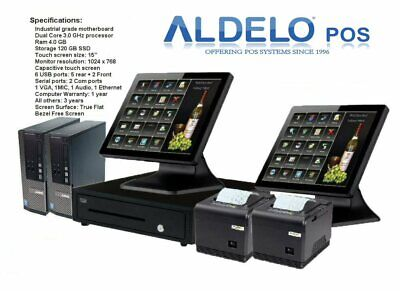 Point of Sale POS System Register Touch Screen All Restaurants With Aldelo Pro