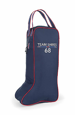 Shires Team Long Boot Bag - Navy Blue