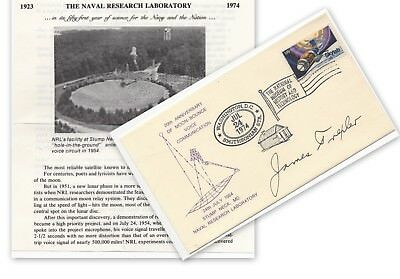 USA, smithsonian cover , sighed by Famous Astronomer, James Trexler     (1229