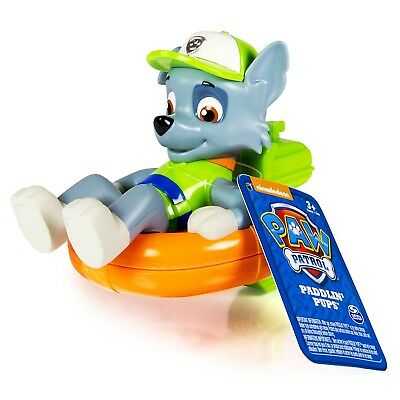 Paw Patrol Bath Paddlin Pup Toy - Rocky. Spin Master. Delivery is Free