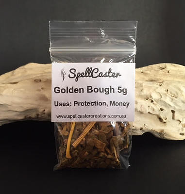Golden Bough 5g Magical Uses Protection, Money & Love - Wicca Witch Spells