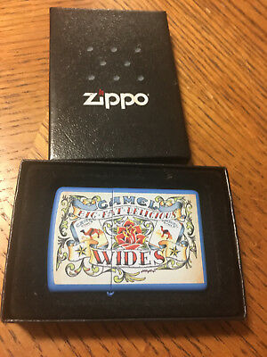 Rare Camel Wides Big Fat Delicious Zippo Lighter New Unused In Box Look!!