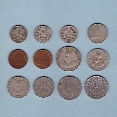 Nicaragua (1887-1972) - Coin Collection Lot # A - World/Foreign/N. & C. America
